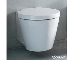 Duravit Starck 1 Wand-Tiefspül-WC L: 57,5 B: 41 cm weiß, mit WonderGliss 02100900641