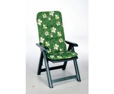 BEST Klappsessel Santiago grün+PL D.1262 96206232