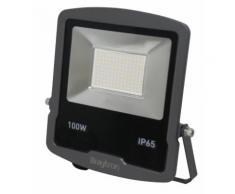 100W LED Fluter Strahler Slim Warmweiß Wasserdicht Scheinwerfer Außenstrahler IP65 Wasserdicht