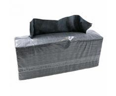 5x140 Stück Werkstatttuch 1-lagig gelegt Grau 38x42 cm Putztuch Reinigungstuch einweg