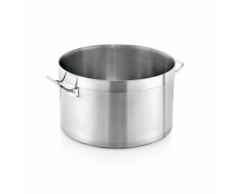 WAS Germany - Fleischtopf Cookware 20, Ø 32 cm, 15 ltr., Chromnickelstahl (2005320)