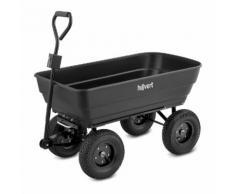 hillvert Gartenwagen - 350 kg - kippbar - 125 L