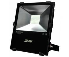 70W LED SMD Fluter Strahler Flutlicht Neutralweiß 4000K 7000 lm IP65 Wasserdicht Außenstrahler