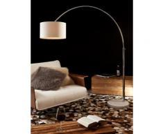 SalesFever Bogenlampe 210 cm weiß