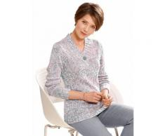 Collection L Damen Pullover rosa