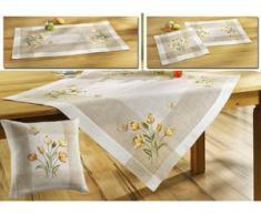 Tisch- und Raumdekoration mit Tulpen und Schmetterlinge, Größe 102 (Läufer, 40/ 85 cm), Sekt