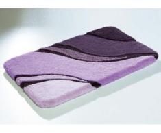 """Kleine Wolke"""" Badgarnitur in verschiedenen Farben, Größe 112 (WC-Deckelbezug mit Kordel), Lila"""