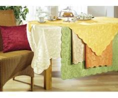 """SCHÄFER"""" Tisch- und Raumdekoration in verschiedenen Ausführungen, Größe 140 (Läufer, 40/140 cm), Gelb"""