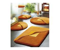Badgarnitur in verschiedenen Farben, Größe 112 (WC-Deckelbezug mit Kordel), Terra