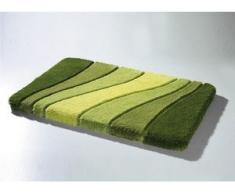 Barfußweiche Badgarnitur aus dem Traditionshaus Meusch, Größe 100 (Vorleger, 55/65 cm), Grün