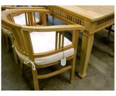 Sitzkissen Gartenmöbel für Betawi Stühle, Stuhl Kissen, Sitzauflage für Gartenstuhl