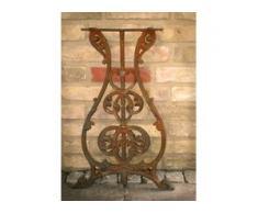 Nähmaschinentisch Seitenteile, antik Tisch für den Flur, Nähmaschine Gartentisch