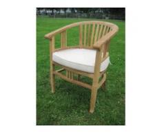 Stühle für Teak Tisch, massiv-Holz Betawi Stühle als Esszimmer oder Gartenmöbel