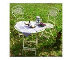 Romantisch schöne Gartenmöbel - Hübscher Tisch mit 2 Stühlen, Meran