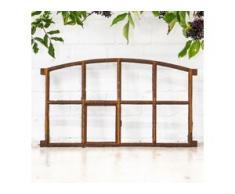 Antik Eisenfenster Stall Fenster Garage mit Öffnung - Mauer Ruine Gartenhaus