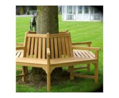 Baumbank, Rundbank für den Baum, Gartenmöbel mit 6 Sitzflächen