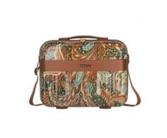 Titan Spotlight Flash Beautycase 38 cm paisley bronze