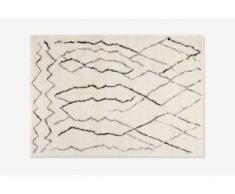 Cecily Teppich (200 x 290 cm), Cremeweiss und Grau