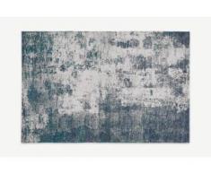 Genna Teppich (160 x 230 cm), Petrolblau