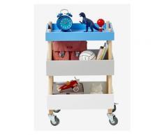 Rollregal für Kinderzimmer natur/mehrfarbig von vertbaudet
