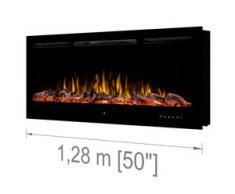 Noble Flame PARIS 1280 schwarz [Elektrokamin Wandeinbau/wandhängend]