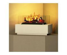 bergamo mobiletti [Elektro-Tischfeuer]: 60 cm - weiß (warm)