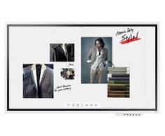 """Samsung Smart Signage WM65R Flip 2 Flipchart 165 cm (65"""") hellgrau (LH65WMRWBGCXEN)"""