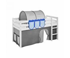 Hängetaschen Blau - für Hochbett Spielbett und Etagenbett