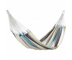Hängematte Caribeña - Blau/Weiß