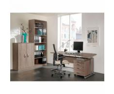 Büromöbel-Set JOBexpress (4-teilig) - Wildeiche Dekor