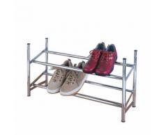 Schuhregal - ausziehbar: 62 bis 116 cm, stapelbar