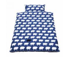 Babybettwäsche Happy Sheep (2-teilig) - Decken- & Kissenbezug