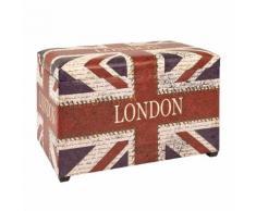 Sitztruhe Union Jack Vintage
