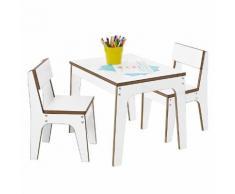 Kindersitzgruppe Juno - Weiß
