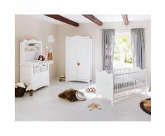 Babyzimmerset Florentina Kids II (3-teilig) - Weiß