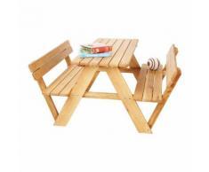 Kindersitzgruppe Lilli - 4-Sitzer - Eiche massiv