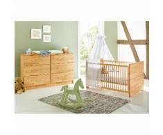 Babyzimmerset Natura Kids (2-teilig) - Buche massiv