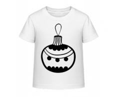 Christbaumkugel Punkte - Kinder Shirtinator T-Shirt