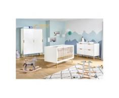 3-tlg. Babyzimmer Edge extrabreit groß
