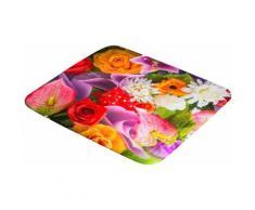 Kleine Wolke Duscheinlage »Blütenmeer«, B: 55 cm, L: 55 cm, ruschhemmende Duscheinlage