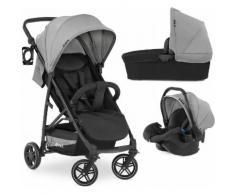 Hauck Kombi-Kinderwagen »Rapid 4R Plus Trioset«, inkl. Babywanne und Babyschale Kinderwagen