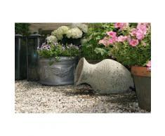 Ubbink Gartenbrunnen »Larissa«, 53 cm Breite, Wasserbecken BxT: 68x68 cm, (Amphore Becken Abdeckplatte Pumpe: 900 l/h, 18W, 10-m-Kabel Anschlussmaterial)