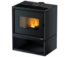 Freepoint Pelletofen »MODO BOX«, 9,36 kW, Zeitbrand, Stahl