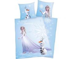 Wendebettwäsche »Die Eiskönigin 2«, Disney, mit farbenfrohem Motiv