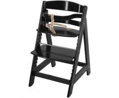 roba® Hochstuhl »Treppenhochstuhl Sit up III, schwarz«, aus Holz