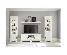 Home affaire Wohnzimmer-Set »Royal«, (4-St., bestehend aus 2 Vitrinen, 1 Lowboard und 1 Wandboard), exclusiv Design im Landhausstil