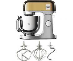 KENWOOD Küchenmaschine KMX760YG kMix Premium Edition Gold, 1000 W, 5 l Schüssel, mit 3-tlg. Pâtisserie-Set