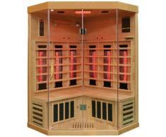 Dewello Infrarotkabine »Brandon«, BxTxH: 120 x 120 x 190 cm, 50 mm, für bis zu 2 Personen