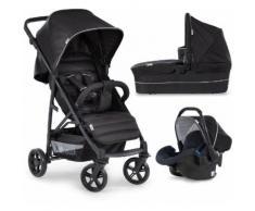 Hauck Kombi-Kinderwagen »Rapid 4 Plus TrioSet, caviar/black«, mit Babyschale Kinderwagen