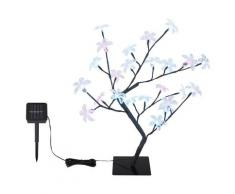 Globo Außen-Stehlampe »SOLAR«, kleiner Baum mit Blüten, Zuleitung 5m